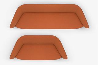 Tuile sofa  by  Kristalia