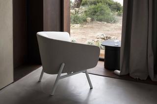 Tuile armchair  by  Kristalia
