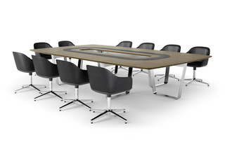 Tune conference table  by  Renz