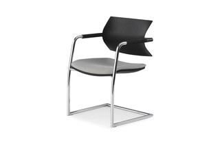 Vanilla cantilever chair  by  Fantoni