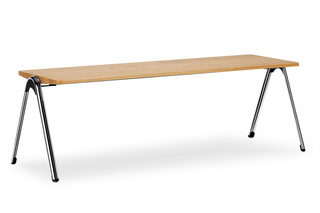 VLEGSis3 bench  by  Interstuhl