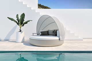 ULM Daybed with folding sunroof  by  VONDOM