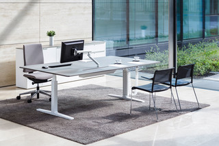 Working desk system CHANGE Management  by  VARIO