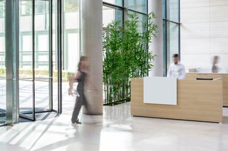 Working desk system CONCLUSION reception  by  VARIO