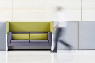 Arbeitstischsystem CONCLUSION Lounge  von  VARIO
