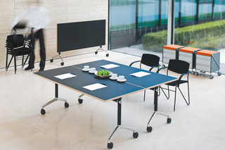 Working desk system LET`S TALK Flip  by  VARIO