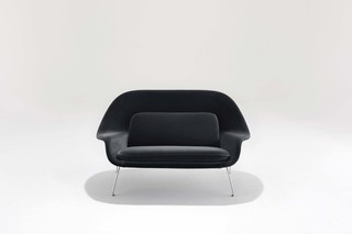 Womb Settee Relax  by  Knoll
