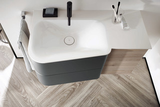 Badu washbasins  by  burgbad