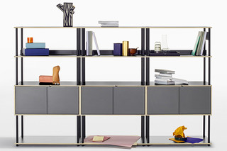 STUDIO shelving system  by  Bene