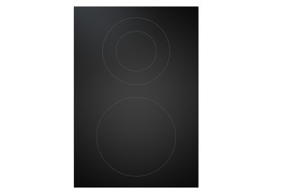 BORA Professional 2.0 Hyper glass ceramic cooktop with 2 cooking zones 1-ring/2-ring  by  Bora