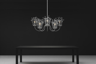 Candles and Spirits Chandelier oval  by  Brand van Egmond