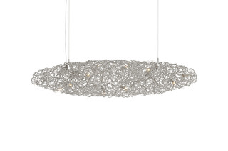 Crystal Waters Hanging Lamp Cigar  by  Brand van Egmond
