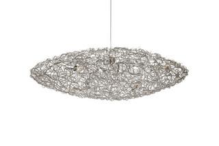 Crystal Waters Hanging Lamp Ufo  by  Brand van Egmond