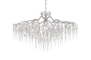 Hollywood Chandelier Glass oval  von  Brand van Egmond