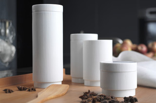 bulthaup storage jars  by  bulthaup