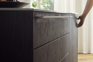 bulthaup b3 veneer and solid wood  by  bulthaup