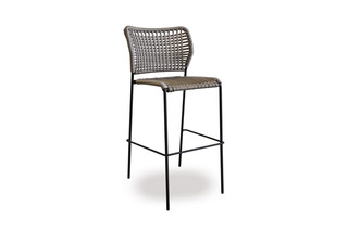 Corda bar stool  by  Tonon