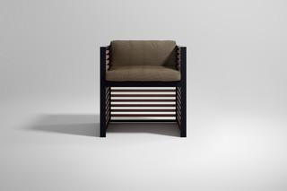 DNA Teak armchair  by  Gandia Blasco