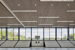 Expanded metal ceiling  by  Lindner Group