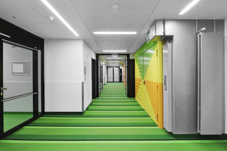 Metal fireproof ceilings  by  Lindner Group
