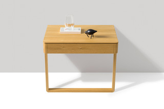 float bedside table  by  TEAM 7