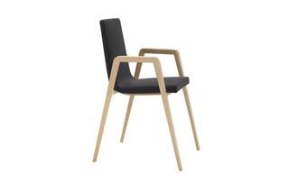 Lineal Comfort Armlehnenstuhl  von  Andreu World