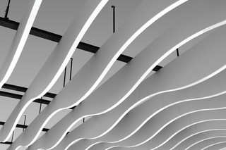 LMD-L LAOLA Baffle ceiling  by  Lindner Group