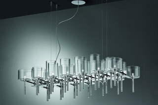 Spillray chandelier 26  by  Axolight