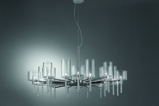 Spillray chandelier 20  by  Axolight