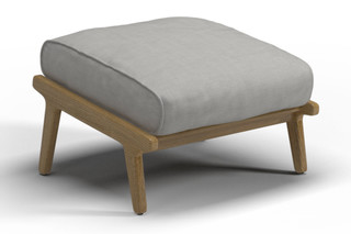 Bay Ottoman  by  Gloster Furniture