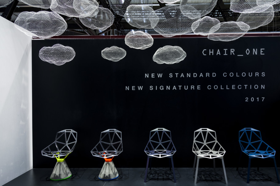 Chair_One, Messestand Magis, Salone 2017