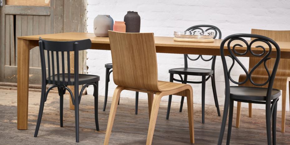 trapez von ton stylepark. Black Bedroom Furniture Sets. Home Design Ideas
