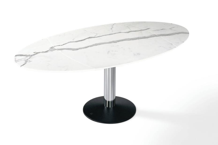 1136-III Titan oval Holz / Stein