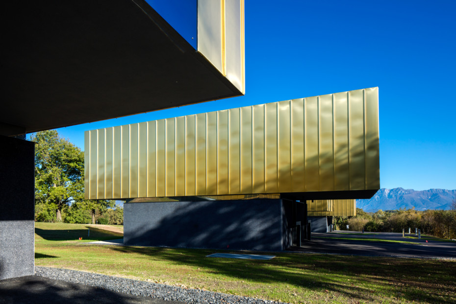 TECU® GOLD, The Lodge, Fagagna, Italien
