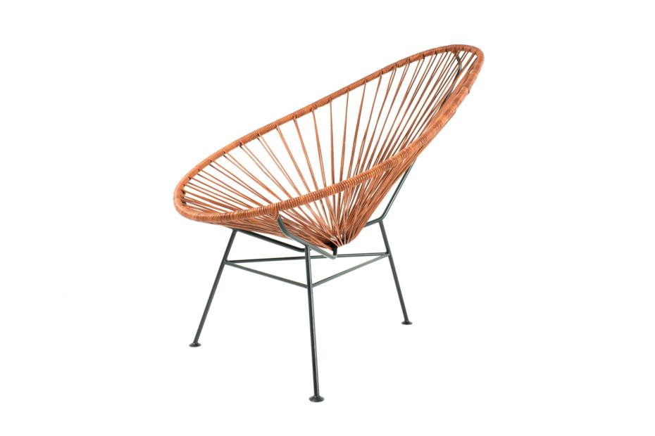 Acapulco Chair Leder Cognac