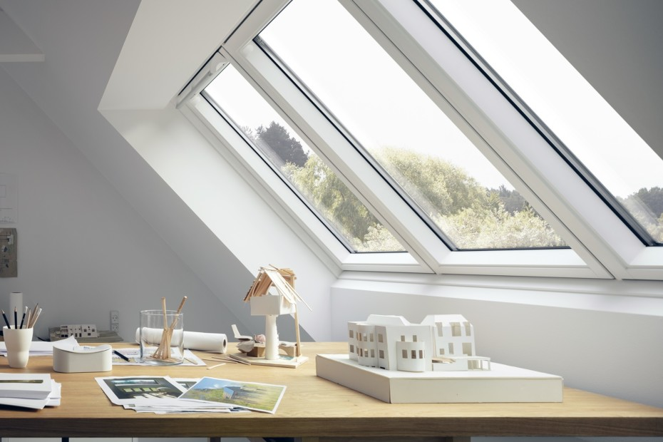 Light solution with large window area