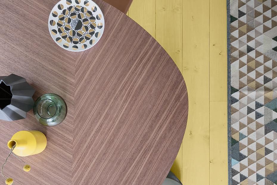 2317 tweed von zanotta stylepark for Table zanotta tweed