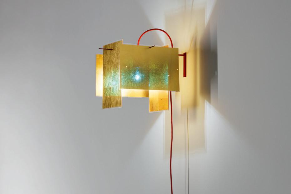 24 Karat Blau wall lamp
