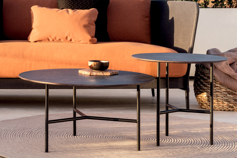 Grada Outdoor round coffee table C919