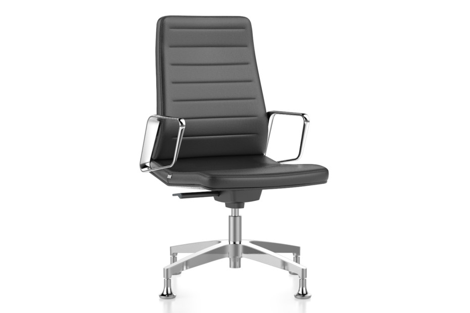 VINTAGEis5 conference armchair with high backrest