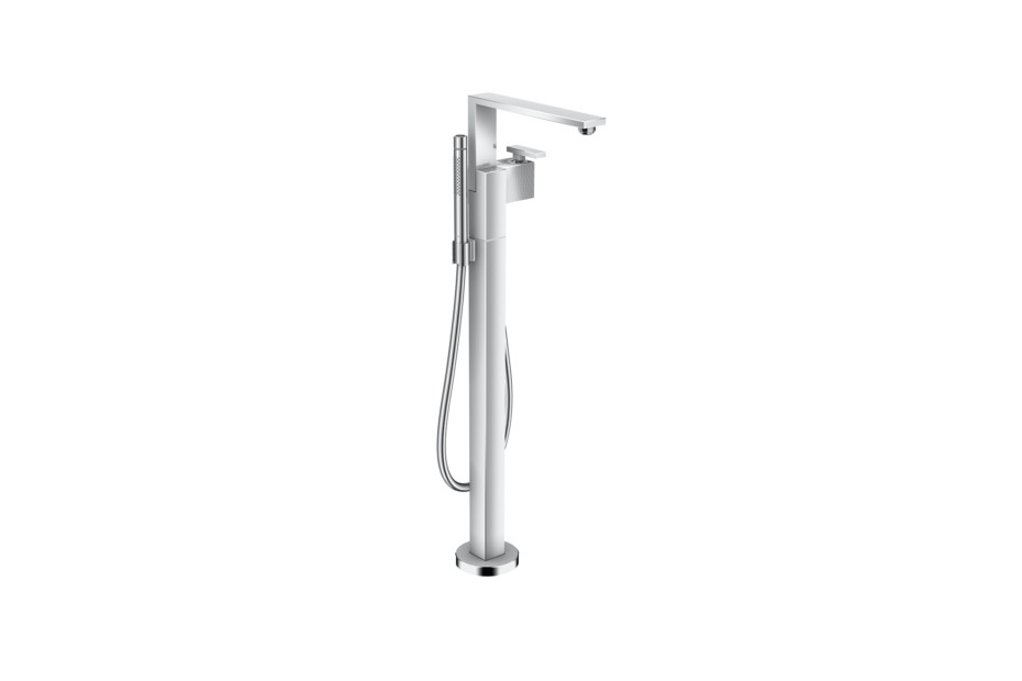 Axor Edge Single lever bath mixer floor-standing - diamond cut