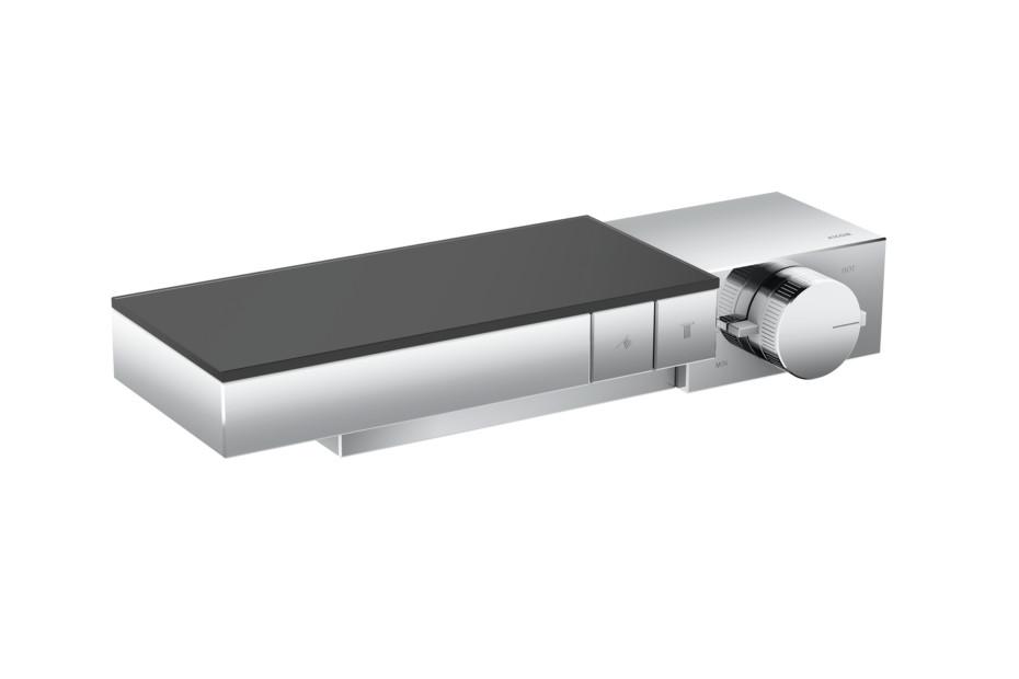 Axor Edge Thermostat für 2 Verbraucher für Auf-/Unterputzinstallation