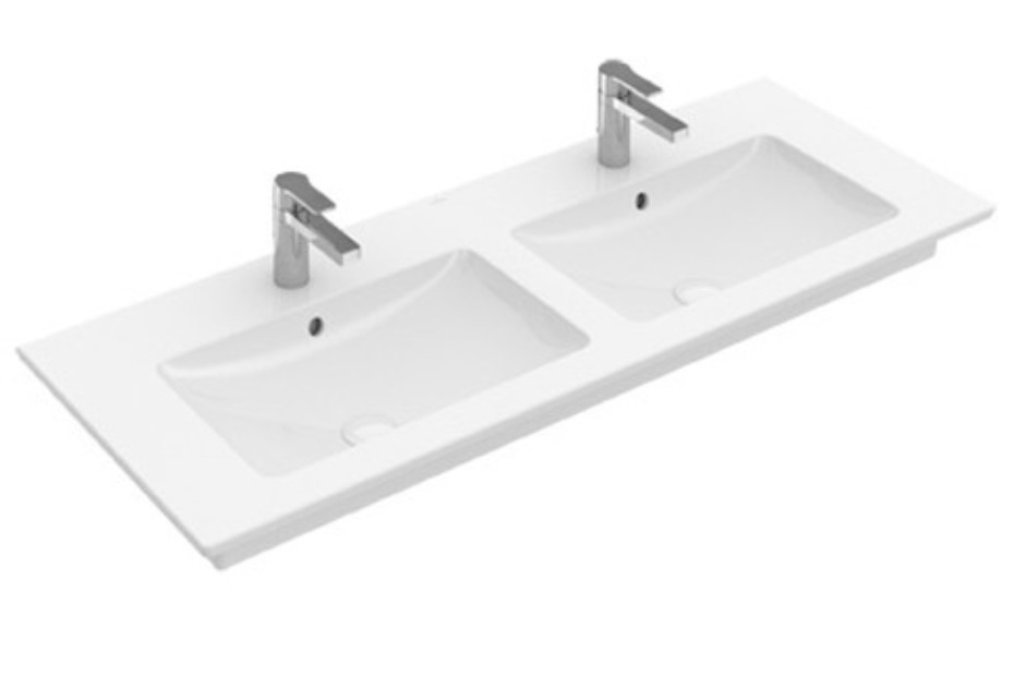 Double vanity washbasin Venticello