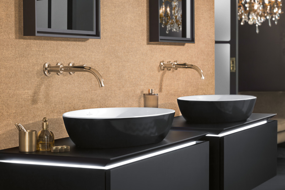 Surface-mounted washbasin Artis