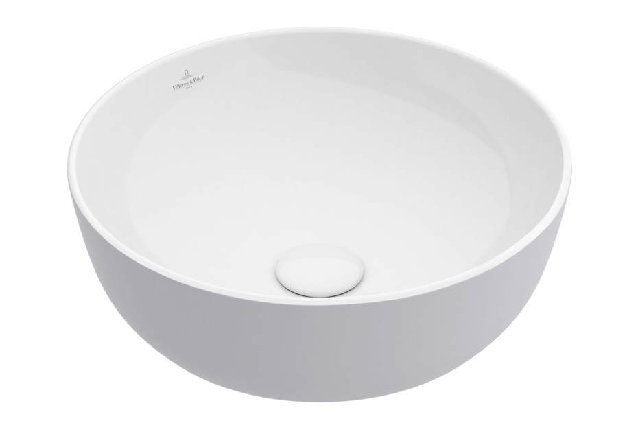 Surface-mounted washbasin Artis round