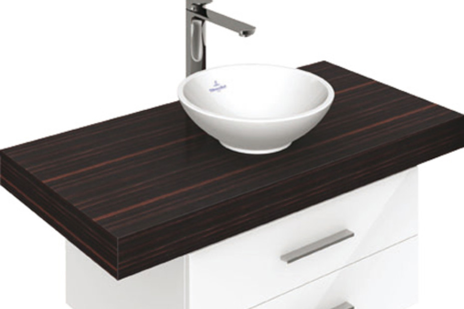 Surface-mounted washbasin round Loop & Friends
