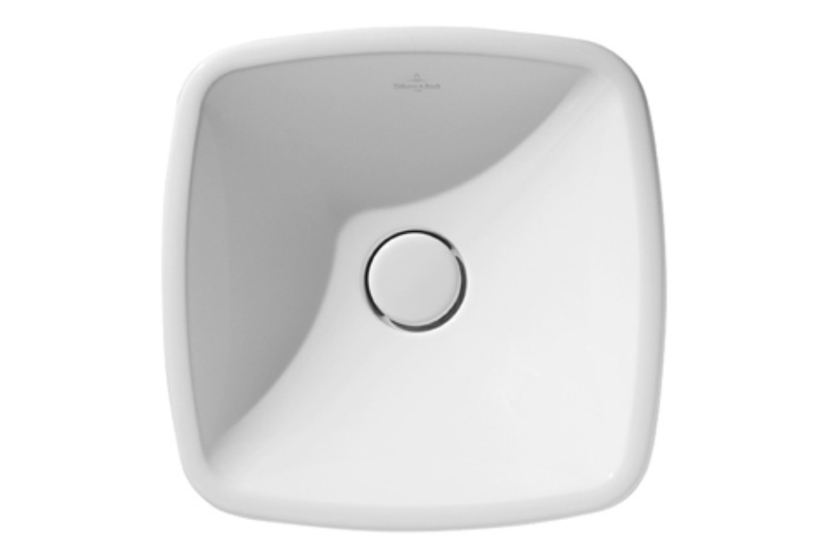 Surface-mounted washbasin square Loop & Friends