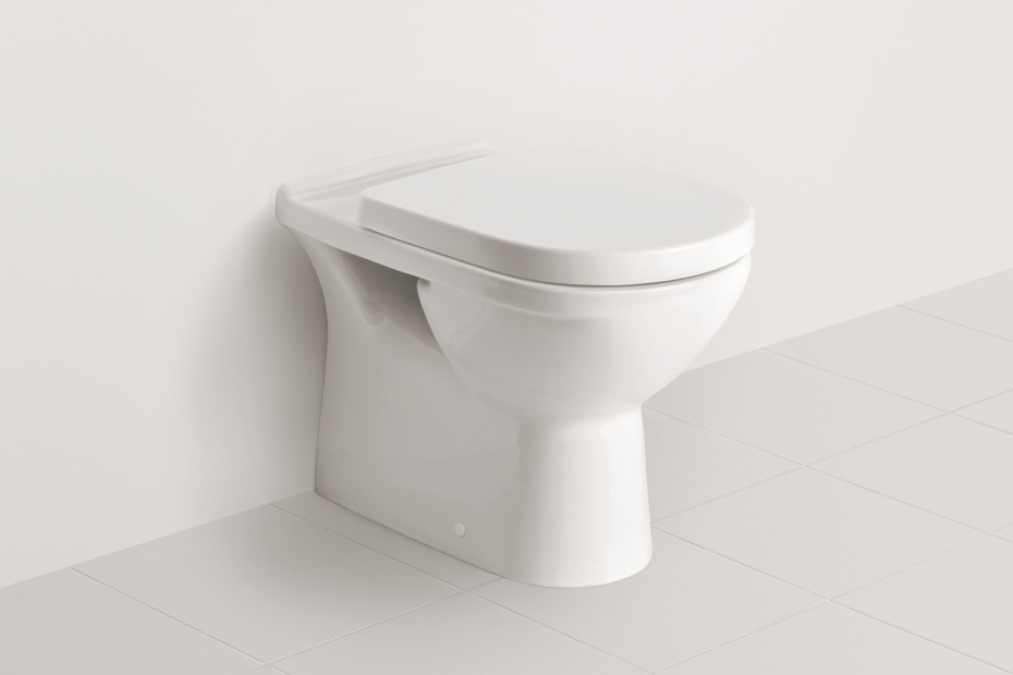 Washdown WC for close-coupled WC-suite O.novo