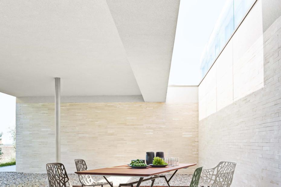 Radice Quadra rectangular table teak