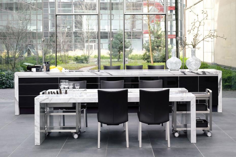 7100 Dining Desk Stein